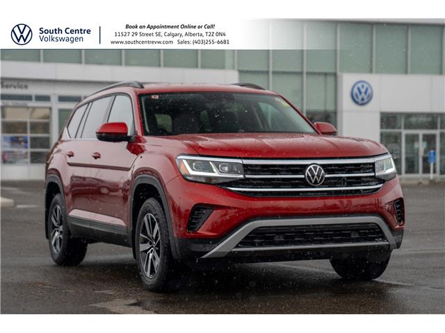 2021 Volkswagen Atlas 2.0 TSI Comfortline (Stk: 10253) in Calgary - Image 1 of 43