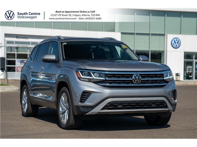 2021 Volkswagen Atlas 3.6 FSI Highline (Stk: 10155) in Calgary - Image 1 of 43