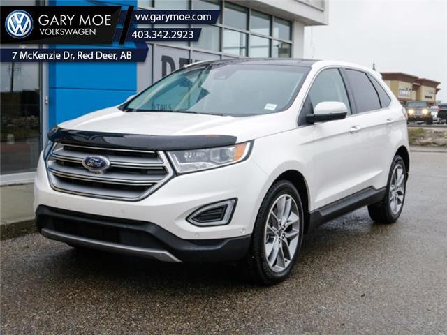 2016 Ford Edge Titanium (Stk: 1AT3837A) in Red Deer County - Image 1 of 25