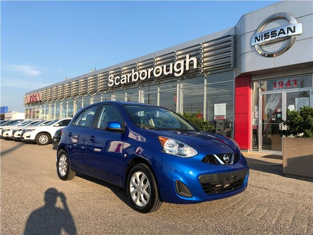 2018 Nissan Micra SV (Stk: P7753) in Scarborough - Image 1 of 14