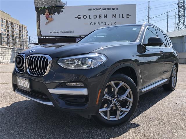2020 BMW X3 xDrive30i 5UXTY5C04LLT38565 P5466 in North York