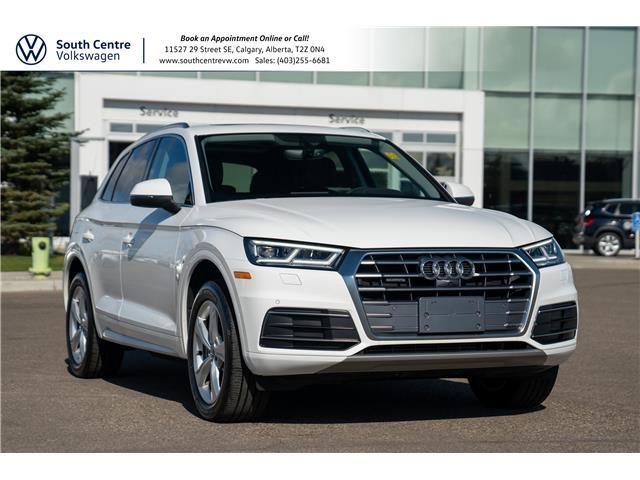 2018 Audi Q5 2.0T Progressiv (Stk: U6758) in Calgary - Image 1 of 39
