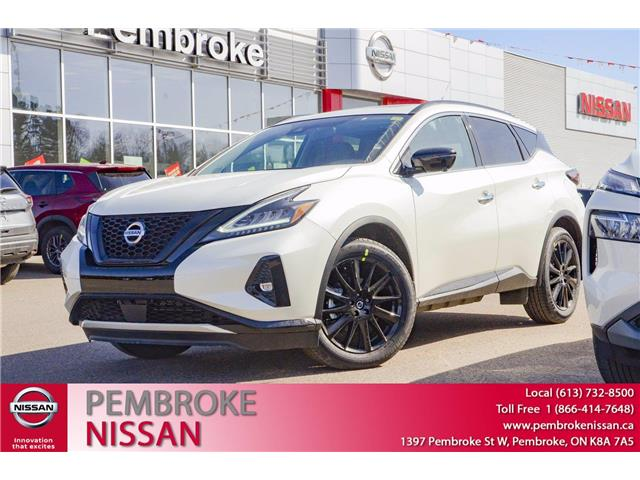 2021 Nissan Murano Midnight Edition (Stk: 21164) in Pembroke - Image 1 of 30