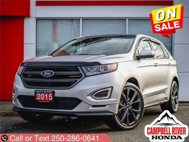 2015 Ford Edge Sport (Stk: X15850) in Campbell River - Image 1 of 20