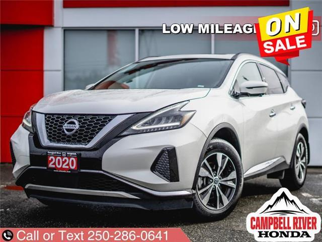 2020 Nissan Murano SV (Stk: X15970) in Campbell River - Image 1 of 22