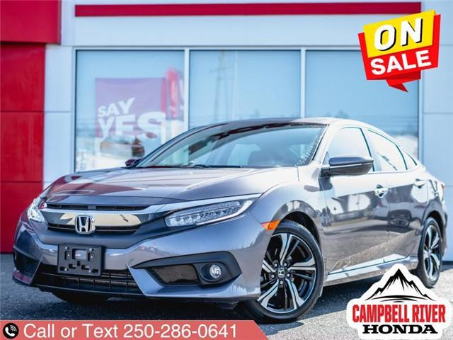2017 Honda Civic Touring (Stk: UH100705) in Campbell River - Image 1 of 20