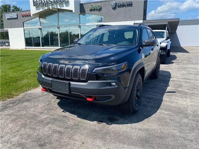 2021 Jeep Cherokee Trailhawk (Stk: 21147) in Meaford - Image 1 of 13