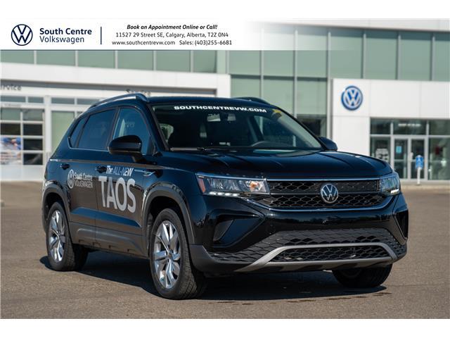 2022 Volkswagen Taos Comfortline (Stk: 20001) in Calgary - Image 1 of 43