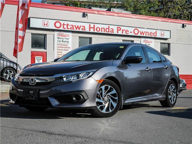 2018 Honda Civic EX (Stk: H91301) in Ottawa - Image 1 of 27
