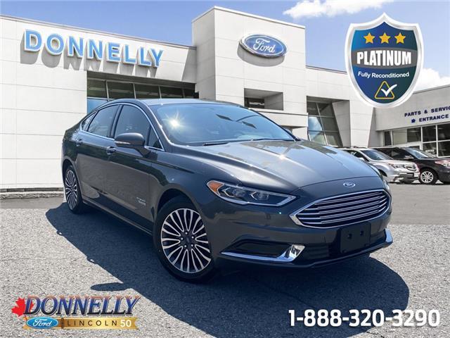 2018 Ford Fusion Energi SE Luxury 3FA6P0PU1JR182717 PLDV668A in Ottawa
