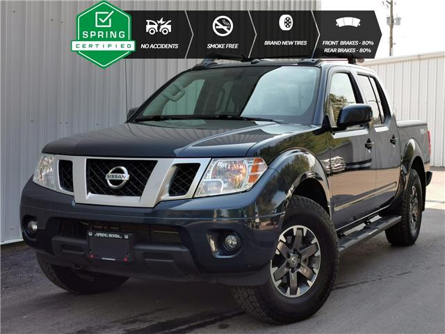 2019 Nissan Frontier PRO-4X 1N6AD0EV3KN708307 B11966 in North Cranbrook