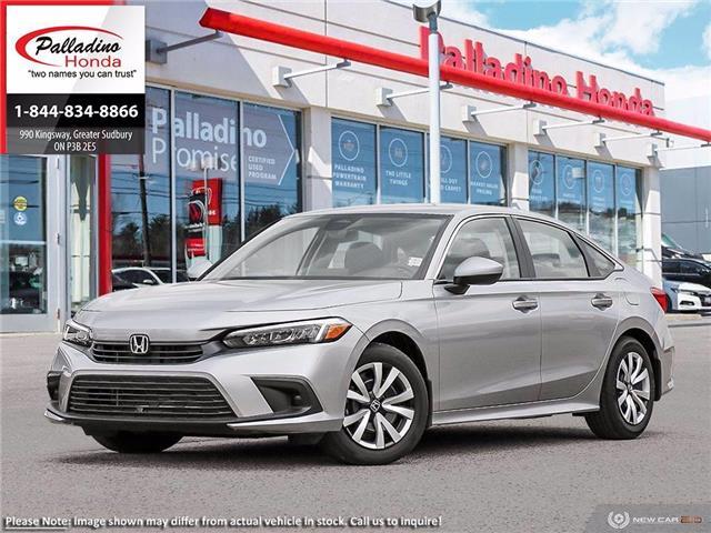 2022 Honda Civic LX (Stk: 23490) in Greater Sudbury - Image 1 of 22
