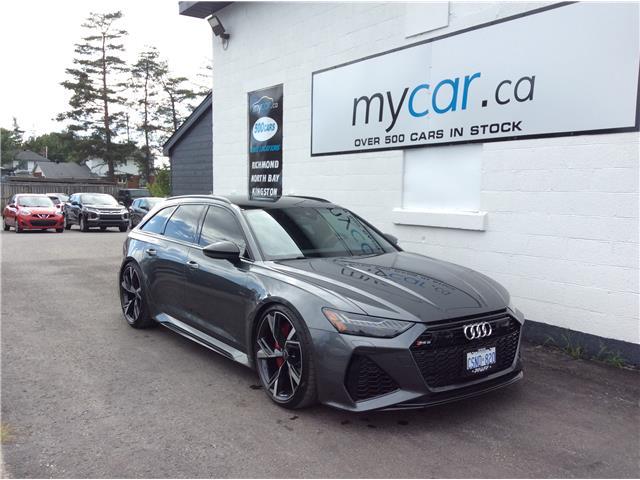 2021 Audi RS 6 Avant 4.0T (Stk: 211111) in Ottawa - Image 1 of 29