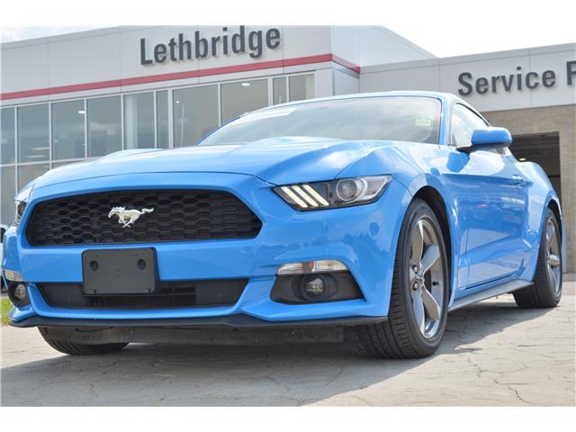 2017 Ford Mustang V6 (Stk: 1TA3445E) in Lethbridge - Image 1 of 25