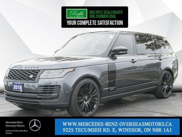 2018 Land Rover Range Rover 5.0L V8 Supercharged (Stk: M8123A) in Windsor - Image 1 of 21