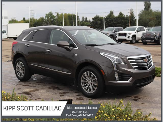 2019 Cadillac XT5 Luxury 1GYKNDRS3KZ167273 67273U in Red Deer