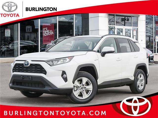 2021 Toyota RAV4 Hybrid XLE (Stk: 218294) in Burlington - Image 1 of 10