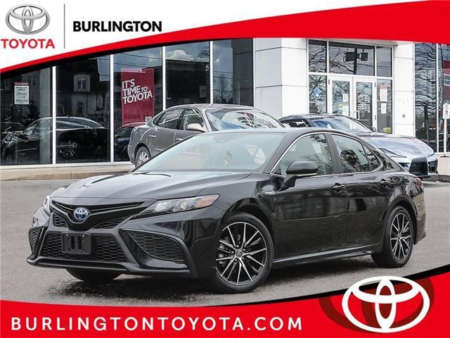 2021 Toyota Camry Hybrid  (Stk: 213036) in Burlington - Image 1 of 23
