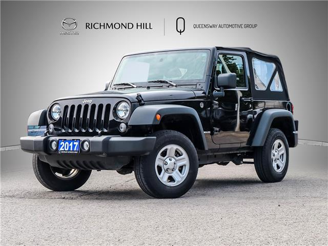 2017 Jeep Wrangler Sport (Stk: P0677) in Richmond Hill - Image 1 of 22