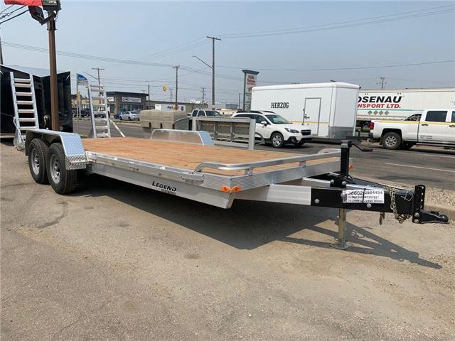 2022 LEGEND 7 X 20 All Aluminum Equipment Hauler  (Stk: ) in Saskatoon - Image 1 of 5