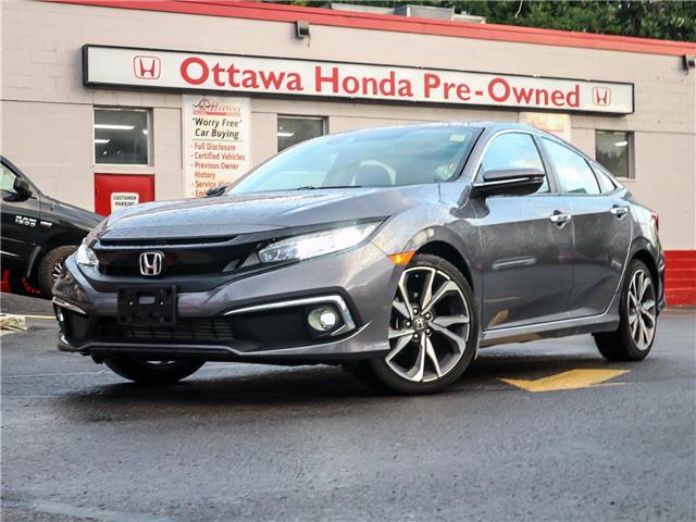 2019 Honda Civic Touring (Stk: H92420) in Ottawa - Image 1 of 29