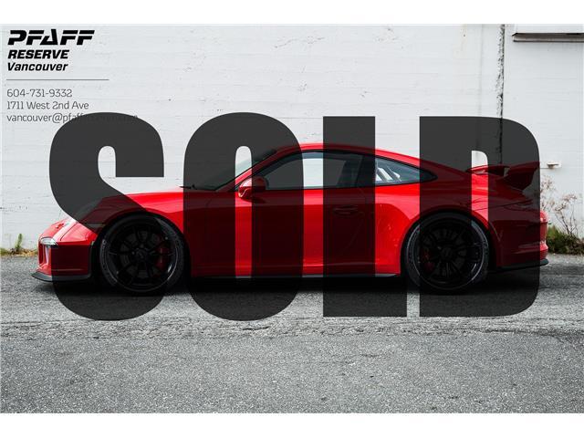 2015 Porsche 911 GT3 (Stk: VU0631) in Vancouver - Image 1 of 20
