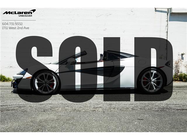 2019 McLaren 570S Spider  (Stk: VU0645) in Vancouver - Image 1 of 20