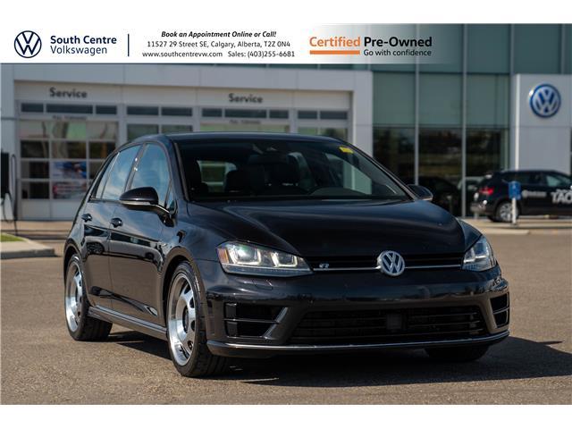 2016 Volkswagen Golf R 2.0 TSI WVWUF7AUXGW240979 U6775 in Calgary