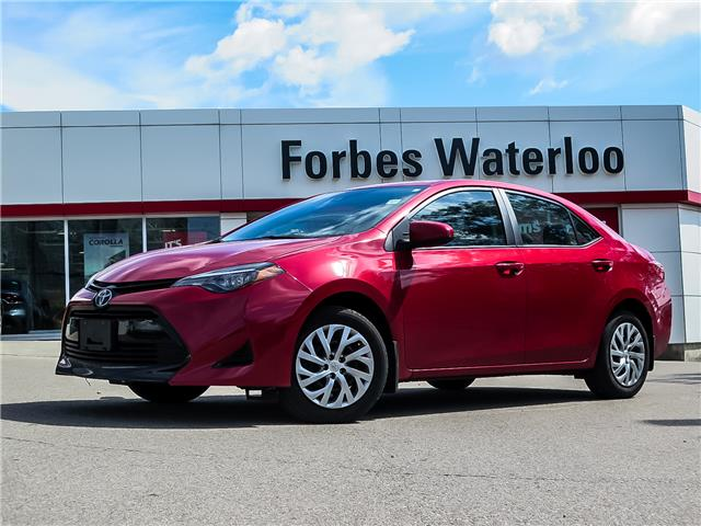 Used 2019 Toyota Corolla  ONE OWNER JUST IN!  - Waterloo - Forbes Waterloo Toyota