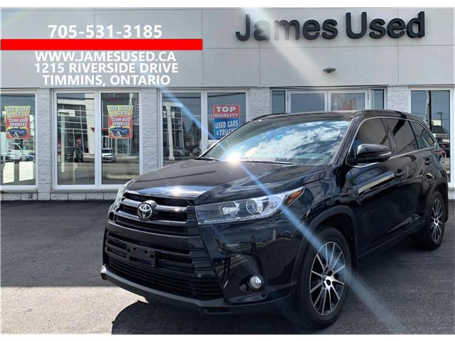 2018 Toyota Highlander XLE (Stk: N21373A) in Timmins - Image 1 of 13