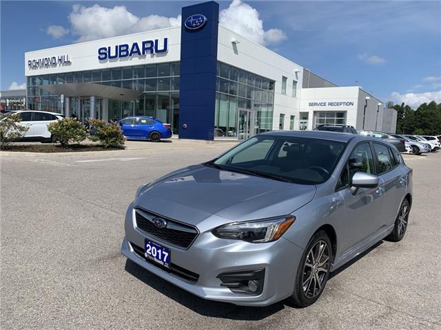 2017 Subaru Impreza Sport (Stk: LP0649) in RICHMOND HILL - Image 1 of 26
