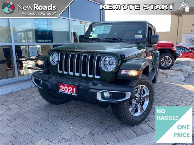 2021 Jeep Wrangler Unlimited Sahara (Stk: W20874) in Newmarket - Image 1 of 23