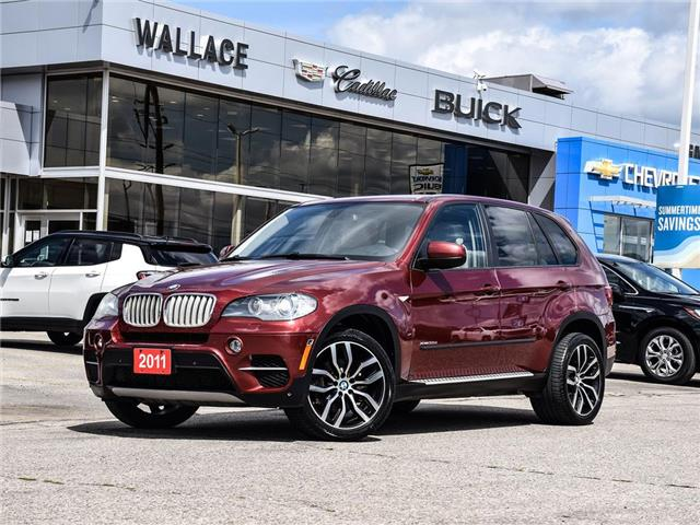 2011 BMW X5 AWD 4dr 35d, SUNROOF, LEATHER SEATS, PUSH START (Stk: 393095A) in Milton - Image 1 of 26