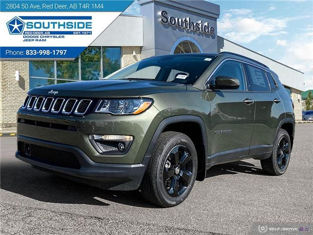 2021 Jeep Compass North (Stk: JC2118) in Red Deer - Image 1 of 25