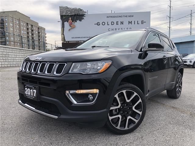 2017 Jeep Compass Limited 3C4NJDCB4HT654618 P5406A in North York