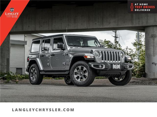 2021 Jeep Wrangler Unlimited Sahara (Stk: M756588) in Surrey - Image 1 of 24