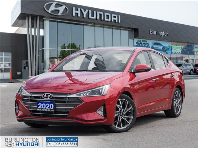 2020 Hyundai Elantra Luxury KMHD84LF7LU102664 U1073 in Burlington