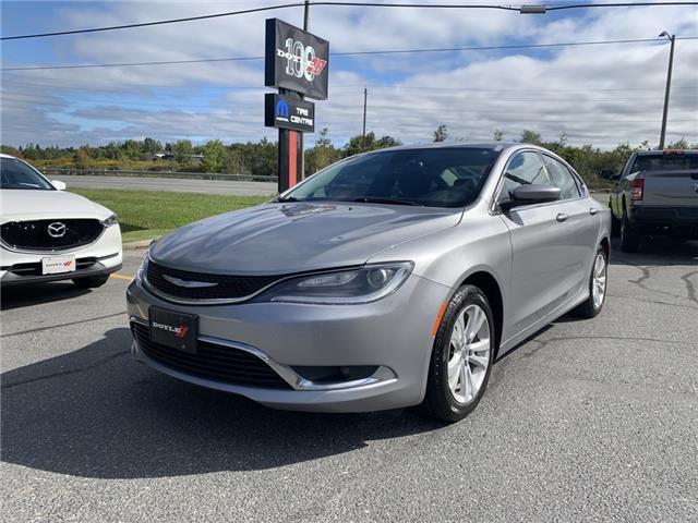 2016 Chrysler 200 Limited (Stk: 66551) in Sudbury - Image 1 of 19