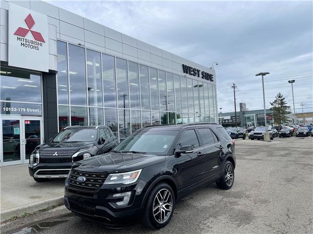 2018 Ford Explorer Sport (Stk: 23183A) in Edmonton - Image 1 of 27