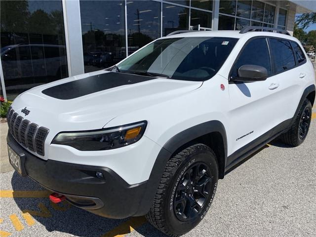 2021 Jeep Cherokee Trailhawk (Stk: TR-0001) in LaSalle - Image 1 of 21