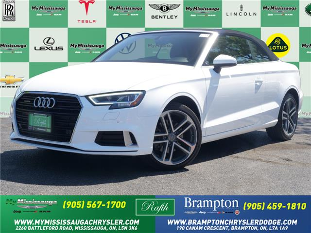 2017 Audi A3 2.0T Technik (Stk: 1711) in Mississauga - Image 1 of 27