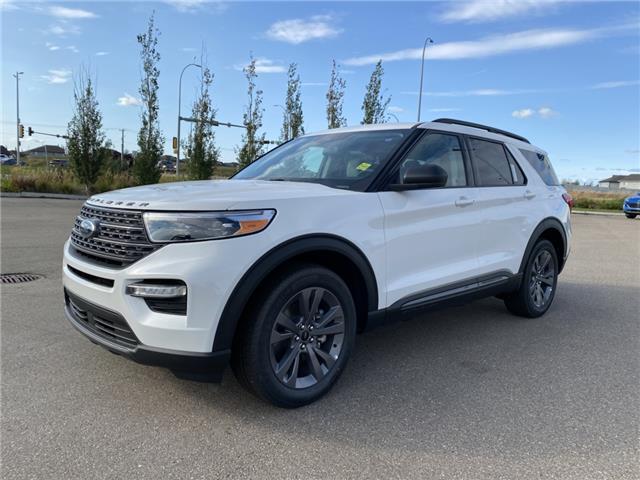 2021 Ford Explorer XLT (Stk: MEX055) in Fort Saskatchewan - Image 1 of 23