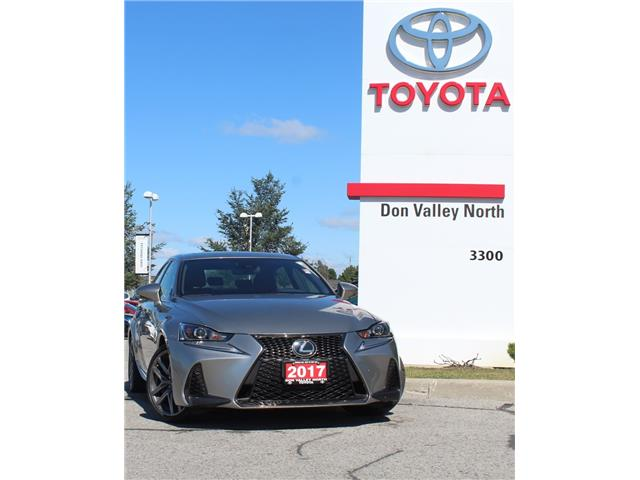 2017 Lexus IS 300 Base (Stk: 305222SA) in Markham - Image 1 of 1