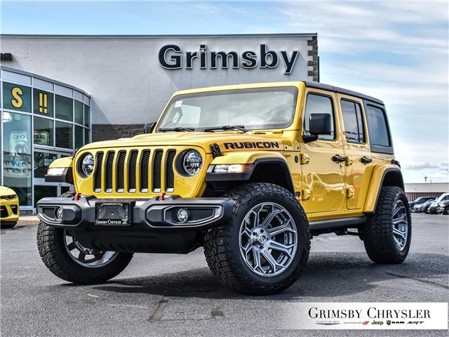 2021 Jeep Wrangler Unlimited Rubicon (Stk: N21328) in Grimsby - Image 1 of 30