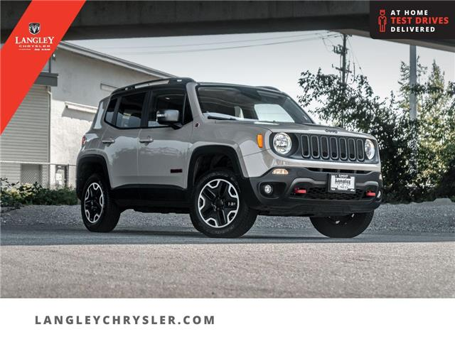 2015 Jeep Renegade Trailhawk (Stk: M214172A) in Surrey - Image 1 of 30