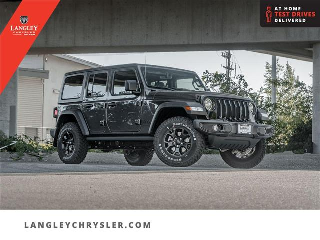 2021 Jeep Wrangler Unlimited Sport (Stk: M791680) in Surrey - Image 1 of 25