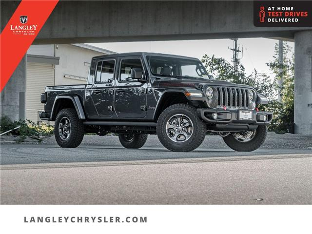 2021 Jeep Gladiator Rubicon (Stk: M596315) in Surrey - Image 1 of 24