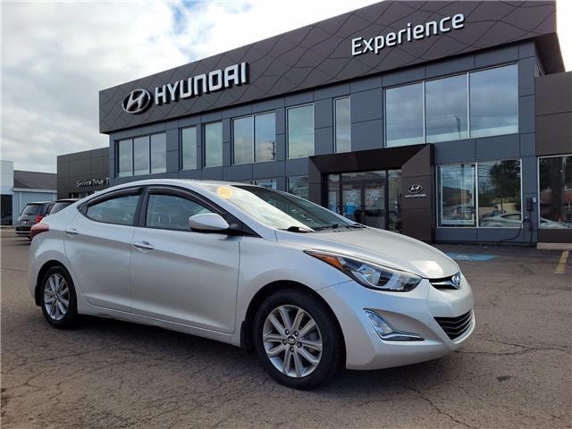 2016 Hyundai Elantra Sport Appearance (Stk: N1503A) in Charlottetown - Image 1 of 15