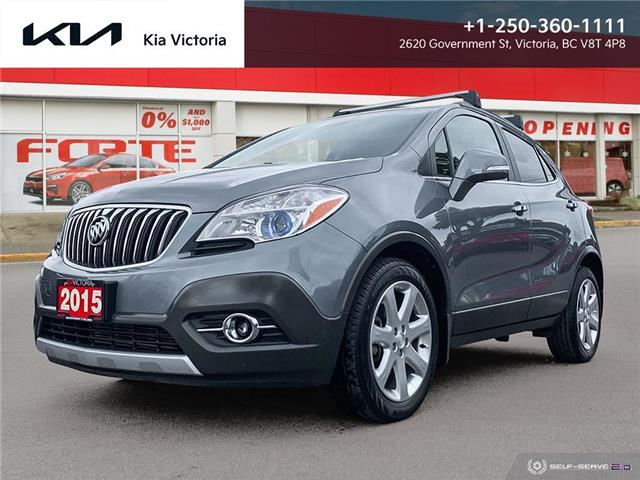 2015 Buick Encore Leather (Stk: SR21-463A) in Victoria - Image 1 of 24