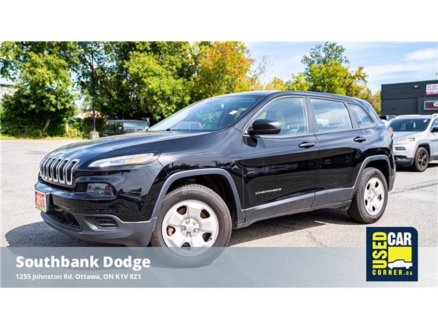 2017 Jeep Cherokee Sport (Stk: 2103591) in OTTAWA - Image 1 of 21